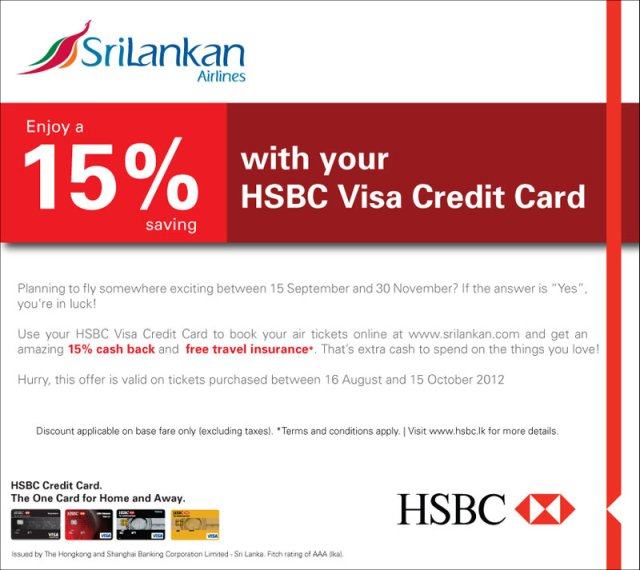 Hsbc Credit Card Online Application Sri Lanka | Ownerletter co