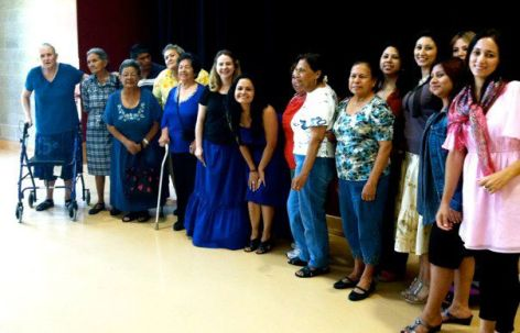 Houston Grand Opera Open Door Days at Baker Ripley Community Center