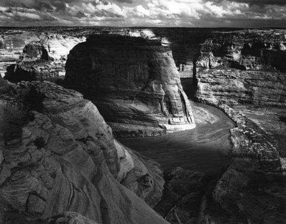 Ansel Adams, 1933 Public Domain Image by the National Park Service