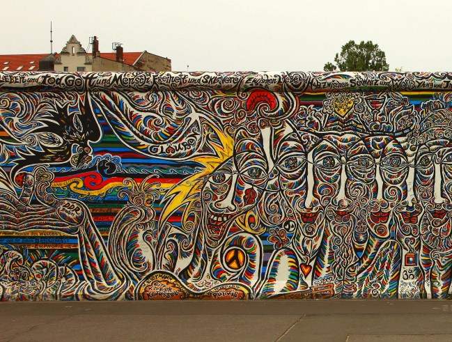Berlin Wall Street Art Creative Commons Licensed Image: Untitled by Jean Cristophe Prunet