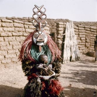 Winiama Mask Dancer