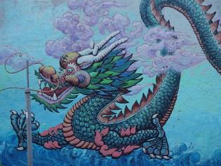 Street Mural, Chinatown, San Francisco © Franco Folini with CCLicense