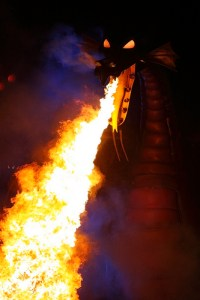 Fantasmic the Dragon, Disney World © fortherock with CCLicense