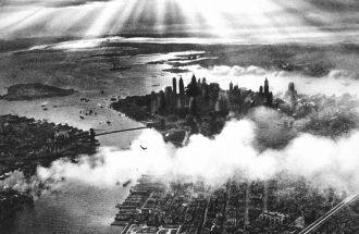 Sunset_over_New_York_City_1932