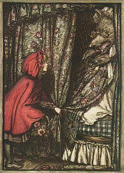 Little Red Riding Hood by Arthur Rackham
