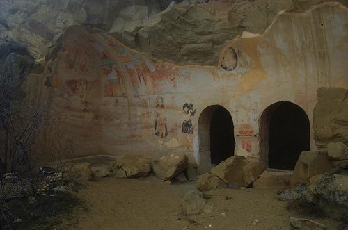 Eerie Ruins at the David Gareja Monastery © Krystof Duda with CCLicense
