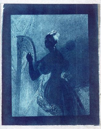 Lady with a Harp, Sir John Herschel, 1842