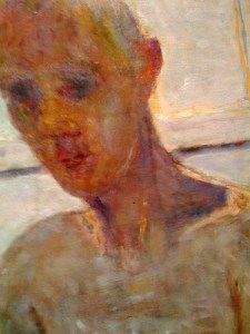 detail, Artist in the Bathroom Mirror, Pierre Bonnard Image © Stephen L. Harlow with CCLicense