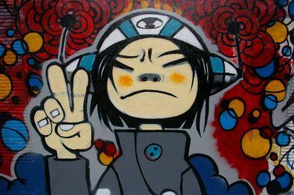 Graffiti near Moganshan Road in Shanghai image © Jakub Hałun with CCLicense