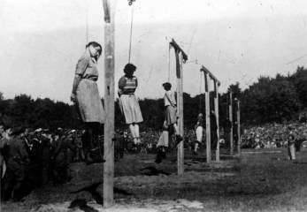 The fate of former SS Overseers was bleak if they were discovered. These women served at the Stutthof camp.