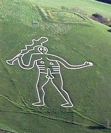 The Rude Man of Cerne image © Pete Harlow with CCLicense