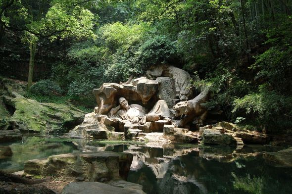 """Hupao, """"Dreaming of the Tiger"""", Spring, Hangzhou, China image © Sh1019 with CCLicense"""