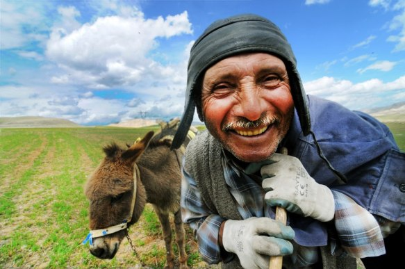 the smiling face of Anatolia © Tuna Akçay with CCLicense