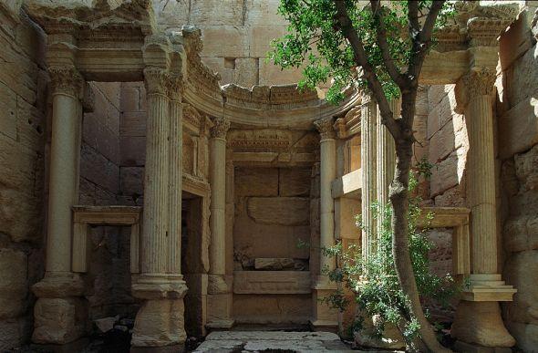 Temple of Baal Shamin, Palmyra © Jerry Strzelecki with CCLicense