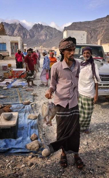 Fish Market, Socotra Island