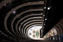 Interior, Burj al Fateh, aka Corinthia Hotel