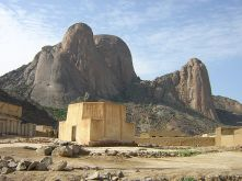 View of the Taka Mountains from Toteil near Kassala, Sudan
