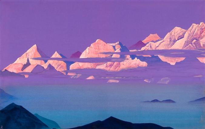 Roerich, Himalayas, 1933
