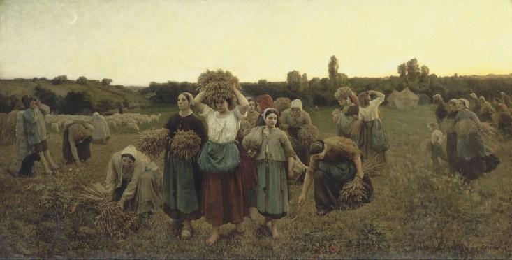 Breton, Calling in the Gleaners
