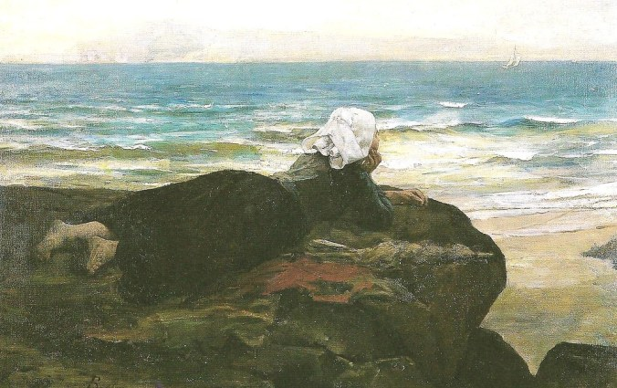 Breton, The Cliff, 1874