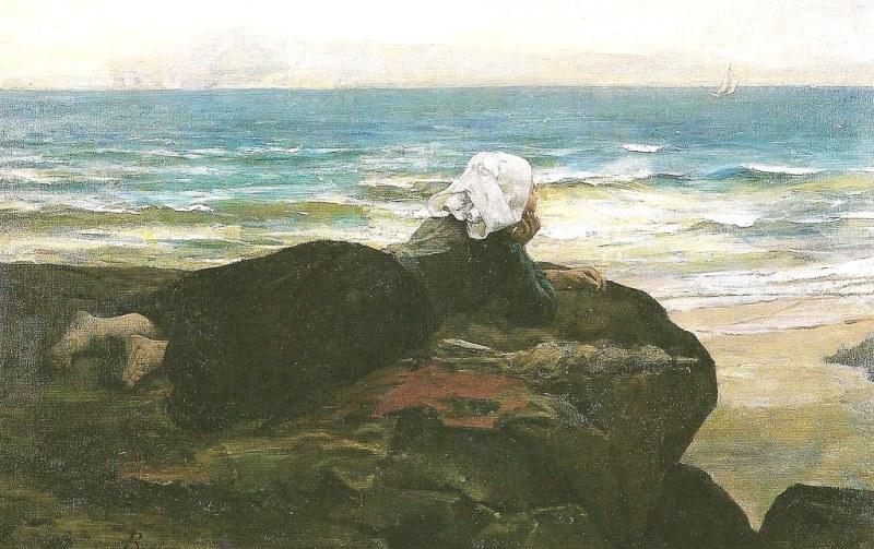 Breton, The Cliff, 1874