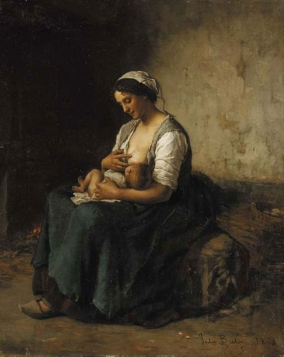 bretonmotherfeedingbaby