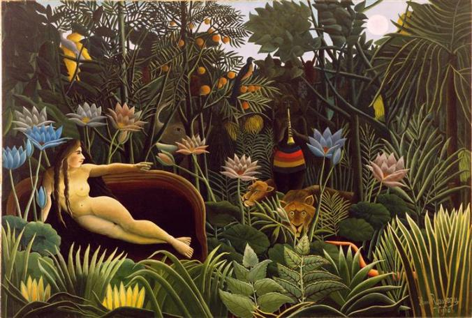 Rousseau, The Dream, 1910