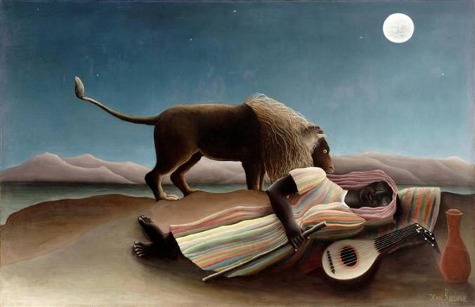 Rousseau, The Sleeping Gypsy, 1897