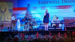 Farewell dinner på ICOLD Bali 2014