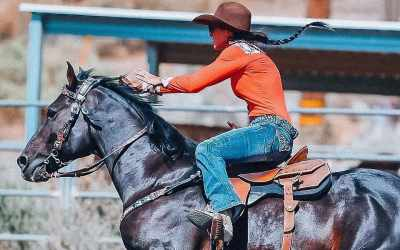 We're Flying Into Fall Like Robyn Morgan And Her Horse, Toby!