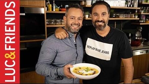 Σούπα κολοκύθας με μανιτάρια-Ιωάννης Παρίκος  Yiannis Lucacos