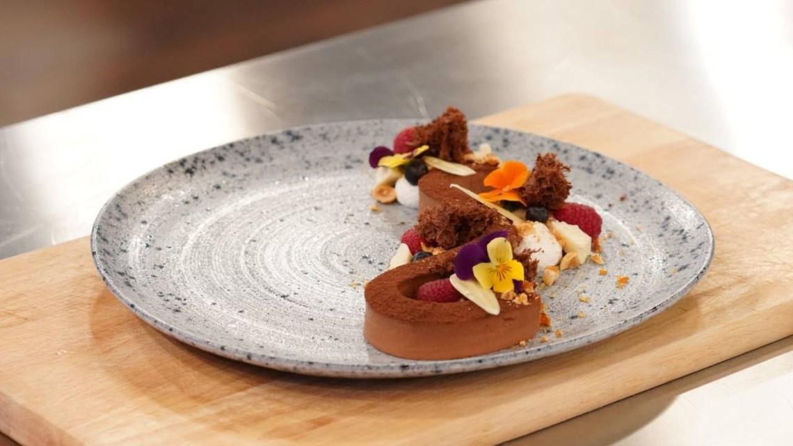 Master Class | Flexi choco γκανάζ με sponge cake bourbon βανίλια,  σοκαλάτα  και ελβετική μαρέγκα