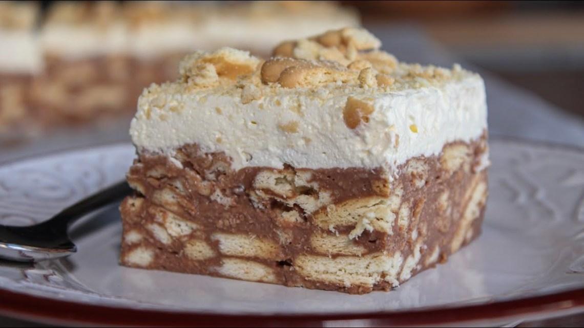 Πεντανόστιμη Τούρτα Κατσαρόλας – Τούρτα Μωσαϊκό – Delicious Pudding Cake