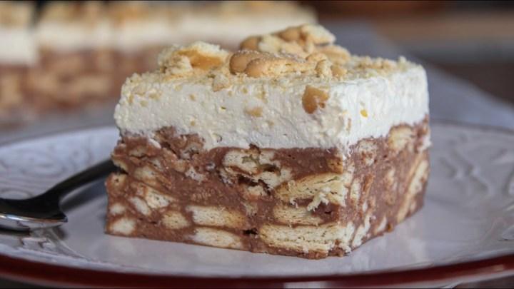 Πεντανόστιμη Τούρτα Κατσαρόλας - Τούρτα Μωσαϊκό - Delicious Pudding Cake