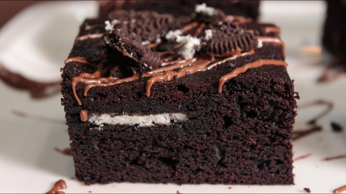 Συνταγή Όνειρο! Εύκολο Σοκολατογλυκό Πειρασμός – Oreo Brownies