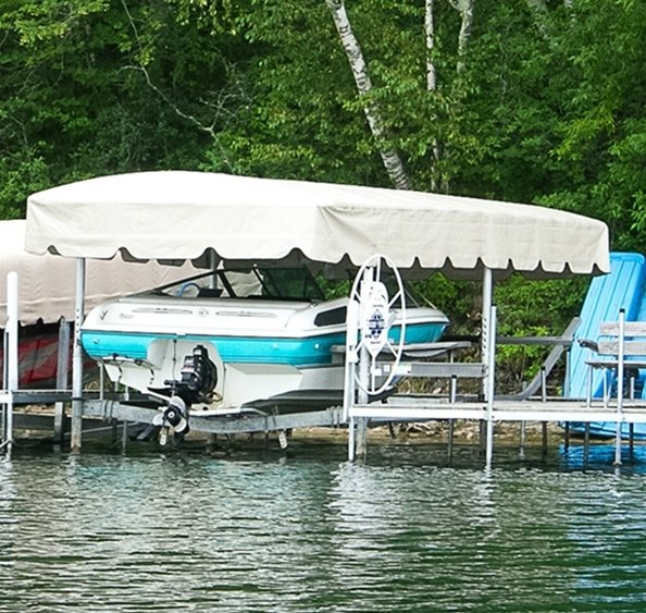 lakeshore 20 x 100 boat lift canopy cover