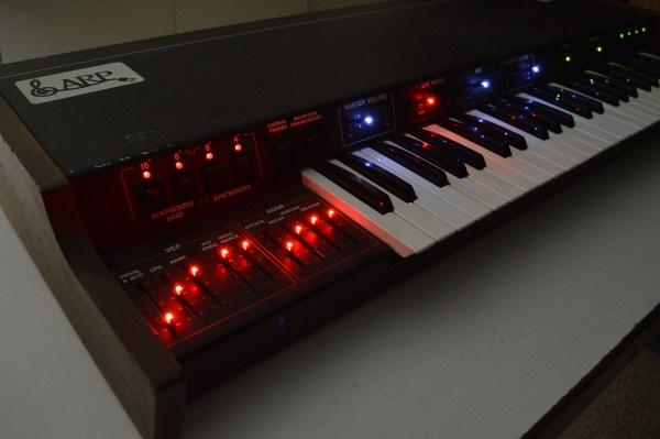 ARP Omni Overhauled w/LED Sliders