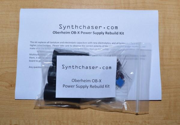 Oberheim OB-X Power Supply Rebuild Kit