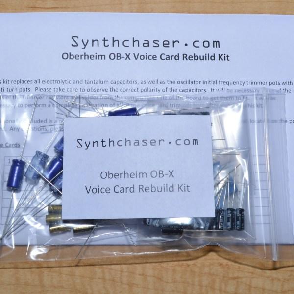 Oberheim OB-X Voice Card Rebuild Kit