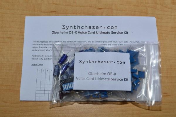 Oberheim OB-X Voice Card Ultimate Service Kit