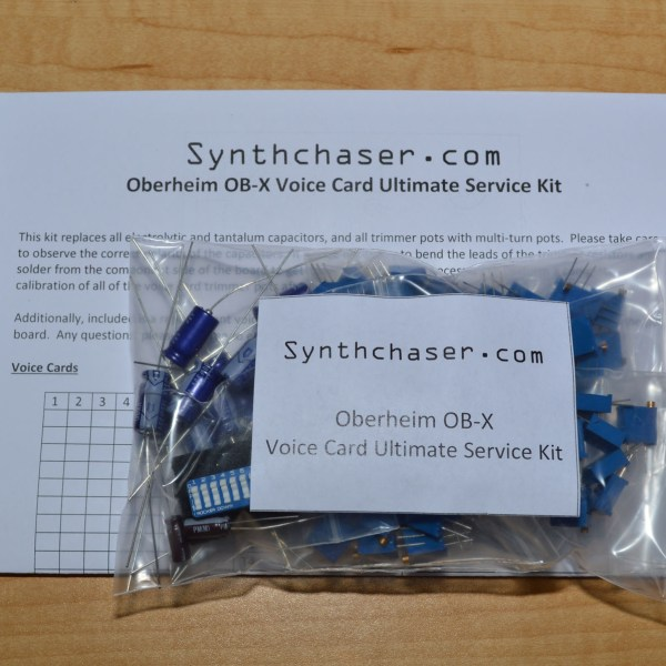 Oberheim OB-X Voice Card Ultimate Service Kit