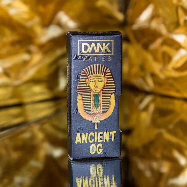 Ancient OG Dank Vape Cart | Ancient OG 1.1g | Ancient OG Vape Cartridge 1.1 Grams