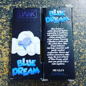 Blue Dream dank vape Cartridge | Buy Blue Dream 1.1g | Blue Dream Cart