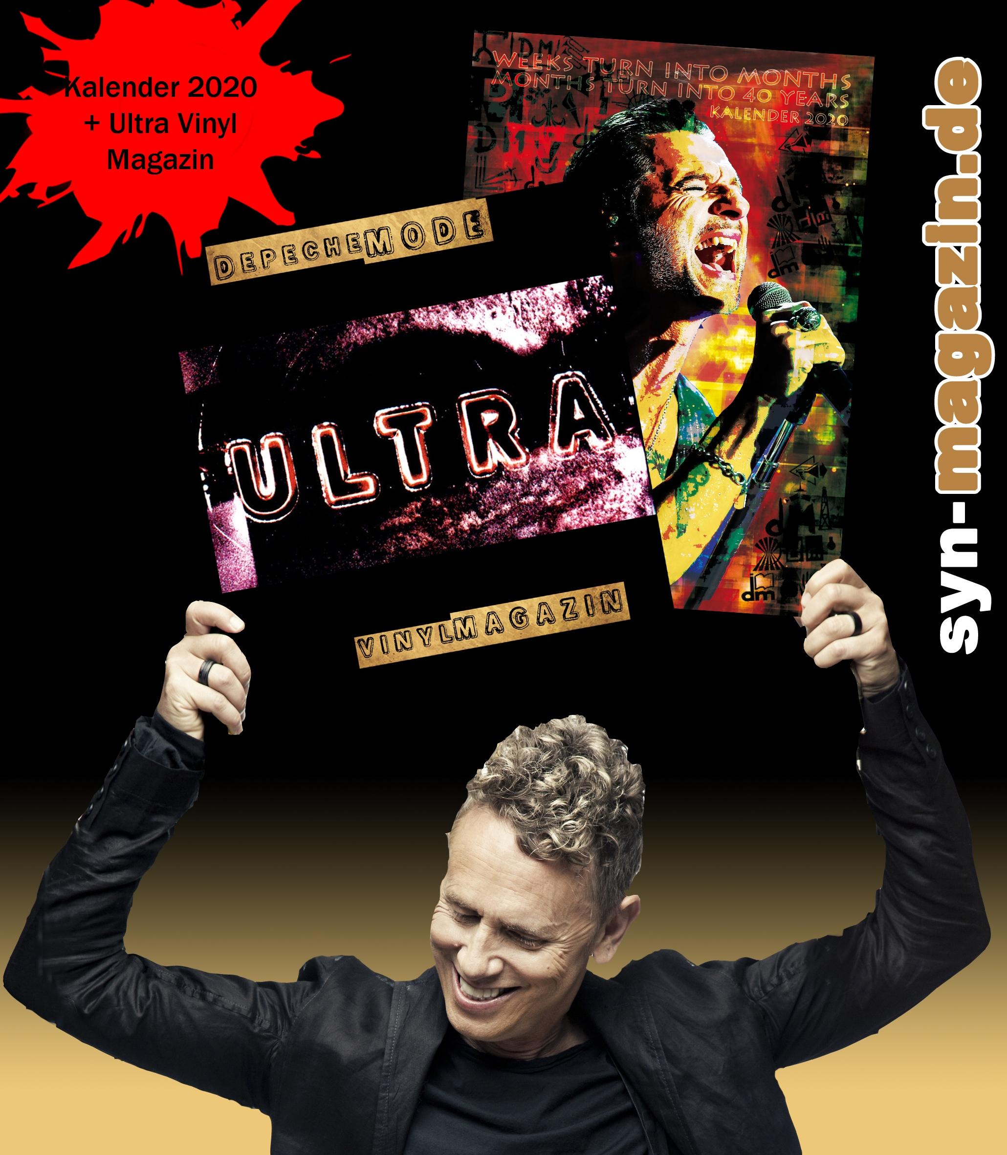 Depeche Mode Ultra Vinylmagazin Inkl Dm Kalender 2020