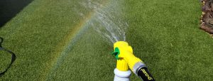 Synthetic turf cleaning products