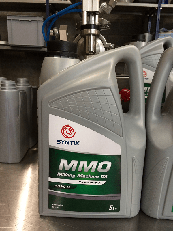 Syntix Joint Label - Special request for vacuum pump oil - MMO - Syntix Innovative Lubricants