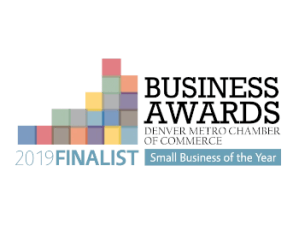 Logo Busines Awards Denver Metro Chamber of Commerce Small Business of the Year
