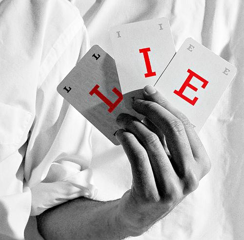 What great lies do we swallow in business, hook, line, sinker