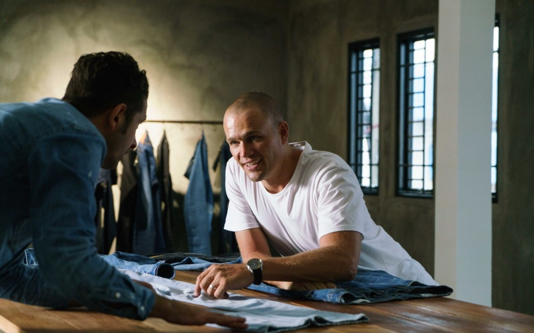 """""""If you want real change, restore people's dignity."""" James Bartle, Outland Denim. Ending slavery."""