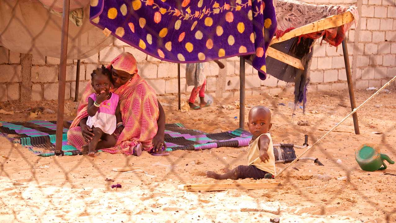 Matallah's wife and children face the grinding poverty experienced by many Hratine, or former slave class individuals, but their dignity and uncommon positivity are a sign, despite the challenges, a brighter future may be in Mauritania's future.